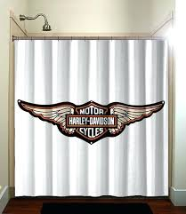 Lovely Harley Davidson Home Decor 2 Shower Curtain Mirrors