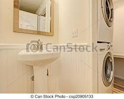 badezimmer trockner unterlegscheibe elfenbein wäscherei