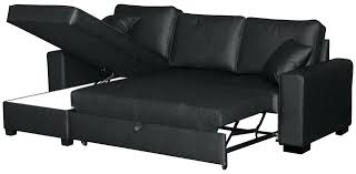 Buchannan Faux Leather Corner Sectional Sofa Black by Leather Corner Sofa Bed Ikea Faux With Storage Black Sectional