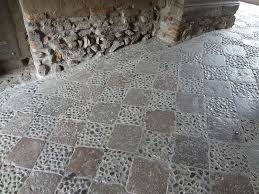 Youre Probably Accustomed To Seeing Stone Pavers Outdoors But They Can Also Be Used Create A Stunning Rustic Indoor Floor Plus Are Available In