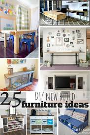 25 DIY new build furniture ideas Simple tutorial and easy to