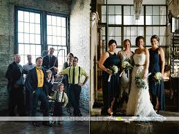 Wedding Photos With Unique Bridal Party Members At Metropolitan Building In Long Island City