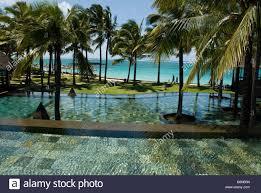 100 Constance Belle Mare Plage Resort Hotel MAURITIUS ISLAND Stock