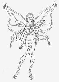 Free Coloring Activity With Winx Club Pages
