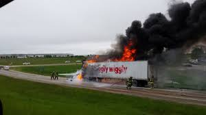 100 Kurtz Trucking Piggly Wiggly Truck Destroyed By Fire Daily Dodge