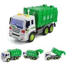 100 Sanitation Truck 116 Scale Garbage Dump Service Car Model Light
