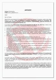 Qa Tester Resume With 5 Years Experience Awesome Software Objective