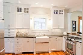 Honed Black Granite Traditional kitchen Tiek Built Homes