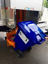 Shred Bin In Shred Truck - Records Management Center