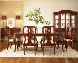 bordeaux louis philippe style 9 piece dining room furniture set