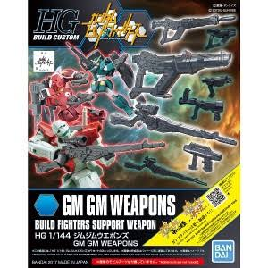 Bandai 1/144 GM/GM Weapons Build Fighters Bandai Hg - BAN219550