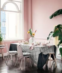Millennial Pink Kitchen With Tropical Accents Design Trends For 2018