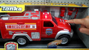 100 Tonka Fire Rescue Truck TONKA TRUCK FIRE ENGINE TOY WITH THE Amazing LATEST HYPER LIGHTING