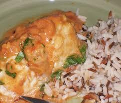 cuisine queue de lotte queue de lotte sauce curry tomates lait de coco saveurs de famille