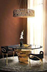 Round Glass Dining Table Contemporary Decor Ideas Match With Tables Intuition Circular