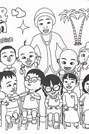 Coloring Page For Boys Upin Ipin Coloring Pages