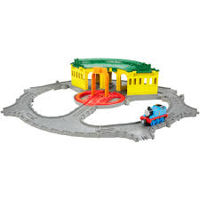 Thomas Tidmouth Sheds Deluxe Set by Thomas U0026 Friends Take N Play Tidmouth Sheds Adventure Hub