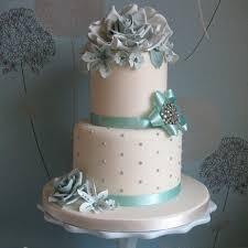 Tiffany Blue Wedding Cake Idea