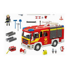 100 Playmobil Fire Truck Engine With Lights And Sound Little Citizens Boutique