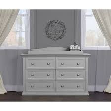 Storkcraft Dresser And Hutch by Evolur Sawyer And Napoli Double Dresser Distressed White