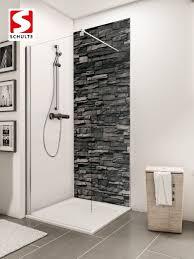 schulte duschrückwände decodesign dekor stein