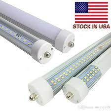 8ft led single pin fa8 t8 led light rows 72w