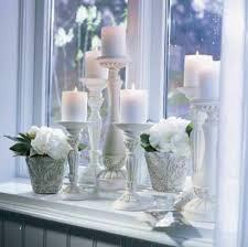 31 schön dekoideen wohnzimmer weiß dekoration fensterbank