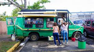 100 Green Food Truck A Slice Of Life And Pastelillo In Puerto Rico Marketplace