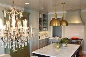 brass pendant light kitchen design ideas