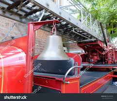 100 Fire Truck Bell Alarm On Old Stock Photo Edit Now 302580509