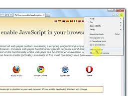 How to enable JavaScript in your browser and why