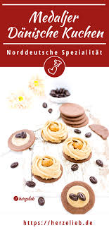 medaljer rezept dänische kuchen mit kaffee und karamell