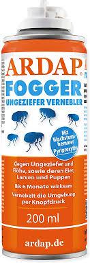 ardap fogger effektiver vernebler zur ungeziefer flohbekämpfung für haushalt tierumgebung für räume bis 30m wirksamer schutz für bis zu 6