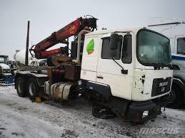 100 Damaged Trucks For Sale MAN FE 460 A ACCIDENTEDAMAGEDUNFALL_timber Trucks Year Of Mnftr