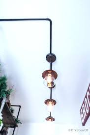 Diy Industrial Pipe Light Fixture Show Off Best Farmhouse Track Lighting Ideas On