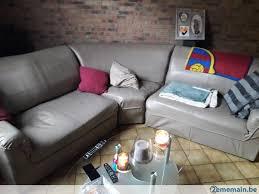 vend canapé vend canapé d angle gris a vendre 2ememain be