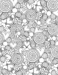 Extravagant Candy Coloring Pages Alisaburke Free