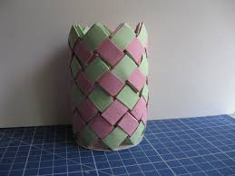 Picture Of How To Make A Small Paper Vase