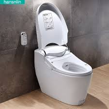 eco smart toilet commode fully integrated bidet system bathroom