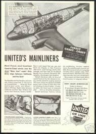 Vintage Airlines And Aircraft Ads Of The 1930s