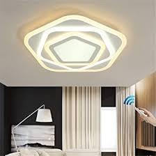 acryl led deckenleuchte dimmbar mit fernbedienung eisen led deckenle schlafzimmer helles licht romantisches modernes minimalistisch wohnzimmer