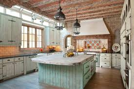 Beautiful Rustic Modern Farmhouse Kitchen With Distressed Wood
