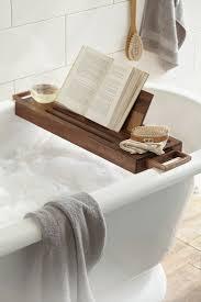 Bamboo Bathtub Caddy With Reading Rack by Bath U0026 Shower Extraordinary Bath Tub Caddy Fabulous Color For