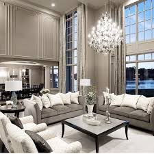 Silver Grey Interior The Muted Monochrome Tones Make This Such A Stylish And Elegant Room