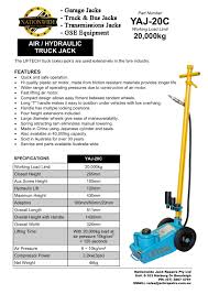 Truck Jacks | FlipHTML5 Transmission Jacks Carl Turner Equipment Inc Clutch Jack 3700 Pallet Jacks On Sale Warehouse Supplies Direct Cat Hand Pallet Jack United Youtube Husky 3ton Light Duty Truck Kithd00127 The Home Depot Sunex 2235ton 2stage Jack6635 Forklift Repair And Parts Hpk60 Garage Hydraulic Workshop Equipment Vynckier Tools Hoisequipmentrundpionstrubodyliftingjack Strongarm Service 20 Ton Airhydraulic Heavy Cat Standon Reach Nrs9ca Safety Inspection Log Kit For Electric Walkie Stackers