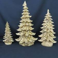 Clear Bulbs For Ceramic Christmas Tree by Vintage Ceramic Christmas Tree With Base Light Clear Bulbs And