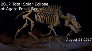 total solar eclipse at agate fossil beds agate fossil beds