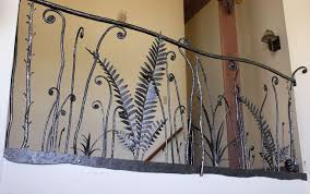 Ornamental Wrought Iron Railings - Wrought Iron Stair Railing ... Wrought Iron Stair Railing Idea John Robinson House Decor Exterior Handrail Including Light Blue Wood Siding Ornamental Wrought Iron Railings Designs Beautifying With Interior That Revive The Railings Process And Design Best 25 Stairs Ideas On Pinterest Gates Stair Railing Spindles Oil Rubbed Balusters Restained Post Handrail Photos Freestanding Spindles Installing