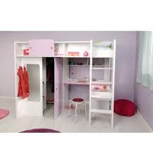 bureau pour chambre de fille lit mezzanine enfant bureau excellent lit et bureau lit combine