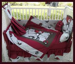 custom made to order new nightmare before christmas crib bedding
